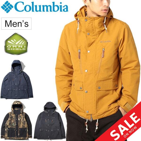 マウンテンパーカ ジャケット メンズ アウター コロンビア columbia ビーバークリークジャケット アウトドアウェア 男性 撥水 キャンプ タウンユース 普段使い 上着 羽織り /PM5689