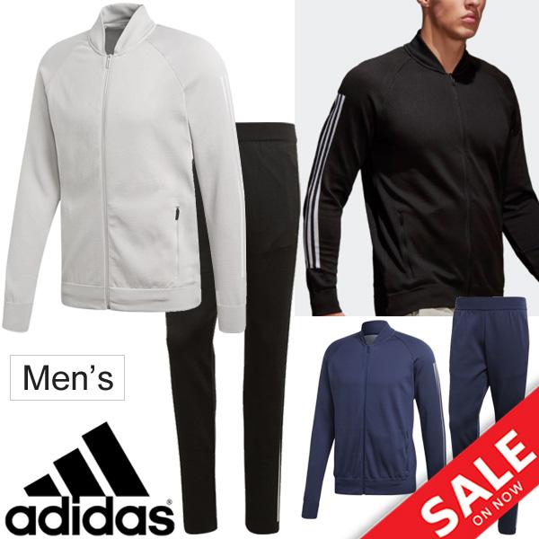 割引クーポンあり★メンズ ジャージ 上下セット アディダス adidas ID ニット ボンバージャケット ストライカーパンツ/トレーニングウェア 男性用 セットアップ スポーツウェア/EEN72-EEN70