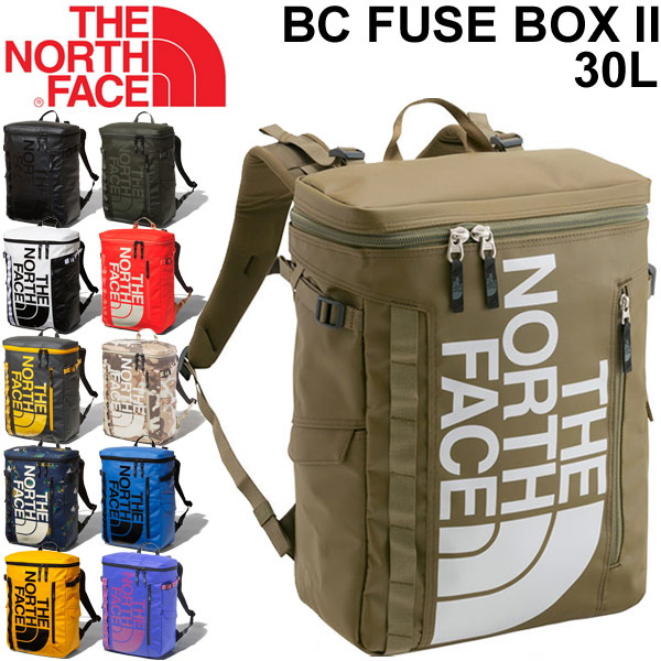 リュックサック バックパック デイパック ノースフェイス THE NORTH FACE ベースキャンプ ヒューズボックス2 ボックス型 30L アウトドア カジュアル 縦型 鞄 かばん BC Fuse Box 正規品/ NM81817