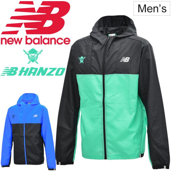 ウィンドブレーカー メンズ ニューバランス newbalance NB HANZO ライトパッカブル ウィンドジャケット スポーツウェア アウター ウインドブレイカー ランニング トレーニング/ AMJ91290