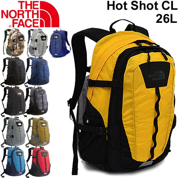 割引クーポンあり★バックパック メンズ レディース ザノースフェイス THE NORTH FACE ホットショット クラシック Hot Shot CLL 26L/リュックサック デイパック アウトドア 普段使い 通勤 通学 定番 多機能 鞄 かばん RKap/ NM71862