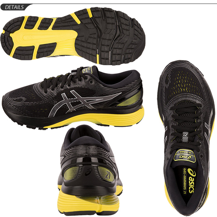 Running shoes men ASICS asics GEL NIMBUS21 gel nimbus 21 jogathon completion beginner fan runner man standard last shoes 1011A169