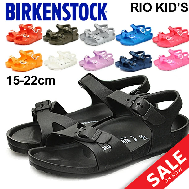 590be37dc555a Child child ビルケンシュトック BIRKENSTOCK RIO KIDS EVA sandals Rio child shoes  15-22.0cm ナロウ width narrow boy girl strap sandals light ...