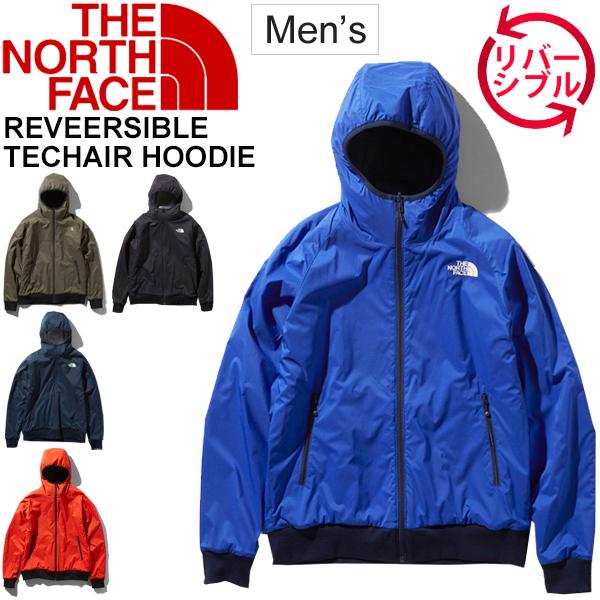 パーカー ジャケット メンズ アウター ノースフェイス THE NORTH FACE リバーシブル テックエアー フーディ アウトドアウェア 男性 軽量 保温 防風 ジャンバー ブルゾン 防寒ウェア 上着 /NT61984