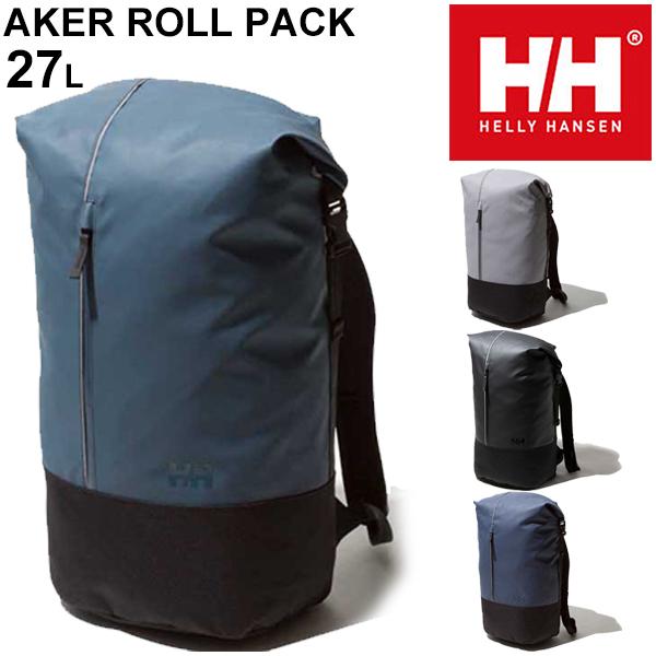 リュック バックパック バッグ メンズ レディース ヘリーハンセン HELLY HANSEN アーケルロールパック 27L/アウトドア カジュアル デイパック 男女兼用 鞄 防水コーティング かばん/HY91882