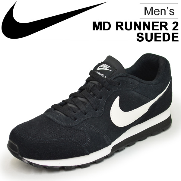 shoes sports low Lance Sneakers man MD runner casual shoes スポカジ Nike shoes men NIKE 2 suede frequency tile RUNNER MD cut sports shoes 2 nostalgic kiZOXuP