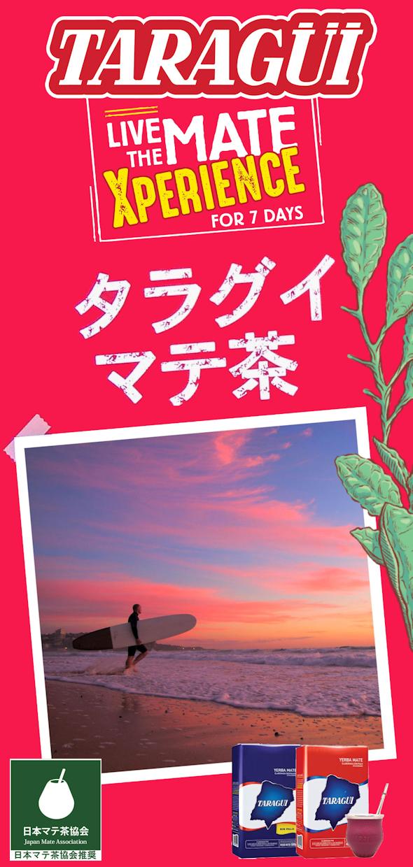 taraguimateサーファー