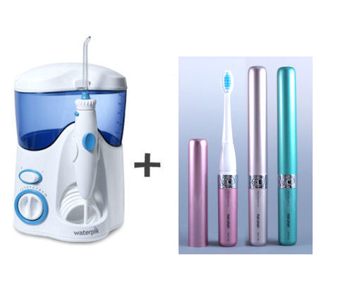 ウォーターピック+携帯音波歯ブラシセット
