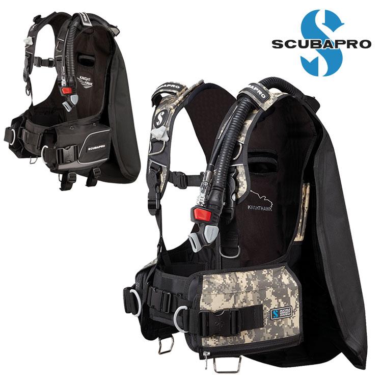 ダイビング BCD 重器材 SCUBAPRO スキューバプロ Sプロ ナイトホーク バックフロート