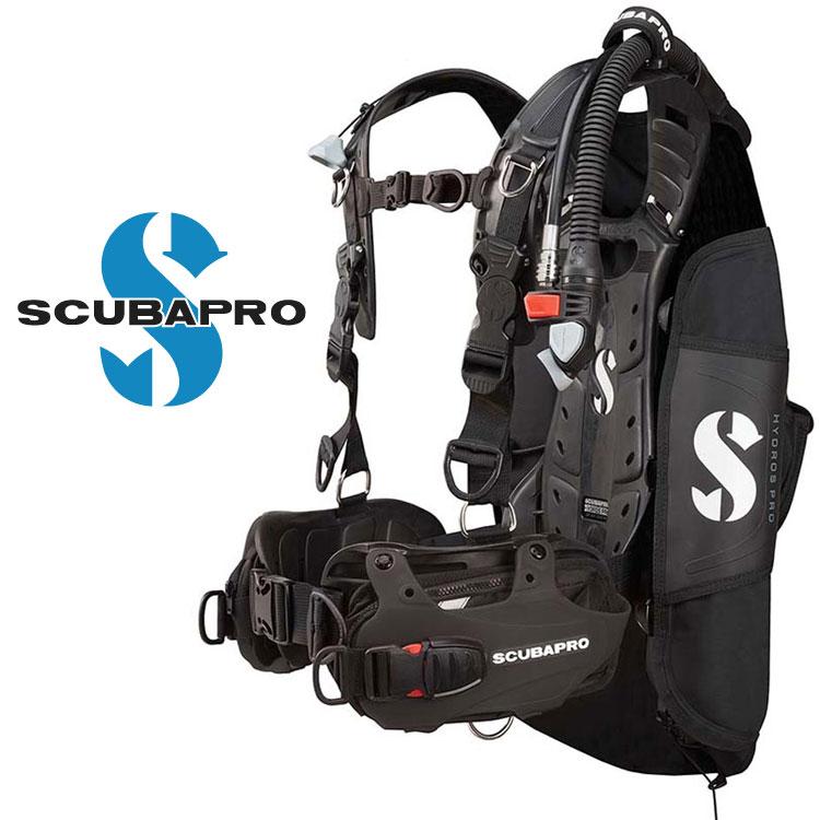 ダイビング BCD 重器材 SCUBAPRO スキューバプロ Sプロ HYDROS PRO バックフロート