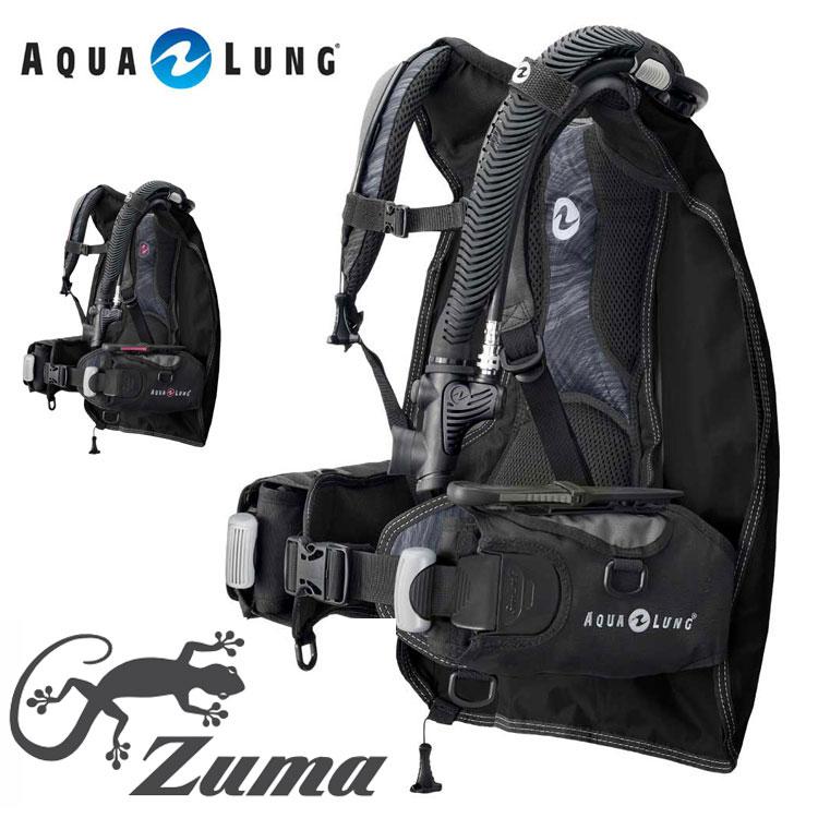 超軽量モデル リゾートでのカジュアルなダイビングにお勧め ダイビング BC AQUALUNG ズーマ 新作からSALEアイテム等お得な商品 満載 アクアラング クリアランスsale 期間限定 20105059 Zuma