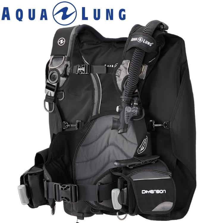 ダイビング BCD AQUALUNG アクアラング ディメンション 重器材 BC
