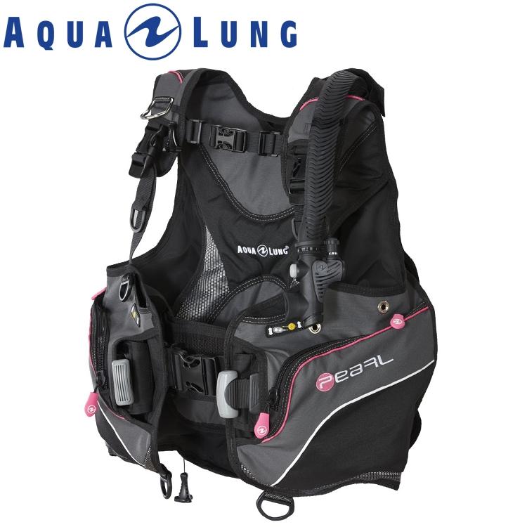 ダイビング BCD AQUALUNG アクアラング パール 重器材 BC