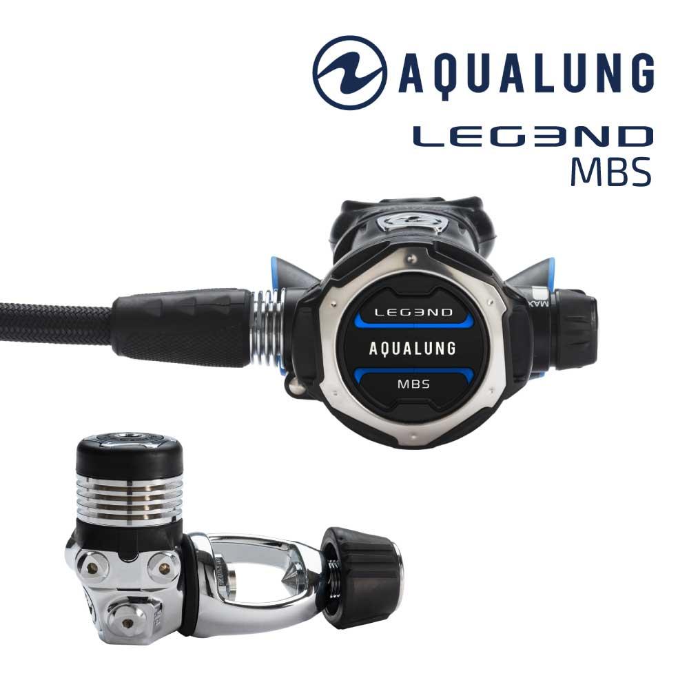 レギュレーター AQUALUNG/アクアラング LEGEND MBS/レジェンド MBS ダイビング スキューバ スキューバダイビング スクーバ スクーバダイビング