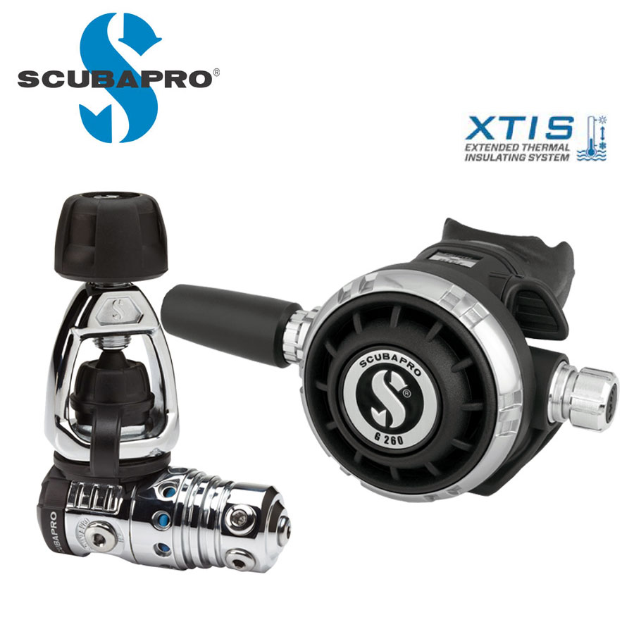 ダイビングレギュレーター SCUBAPRO/スキューバプロ MK25EVO/G260 レギュレーター Sプロ