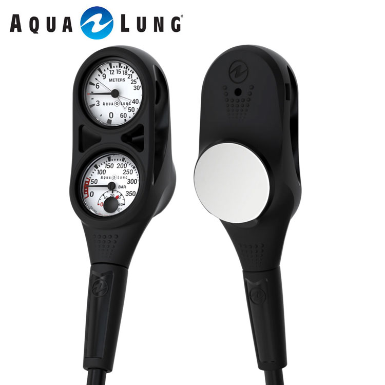 ゲージ AQUALUNG/アクアラング プレシス2ゲージ(残圧計+水深計)