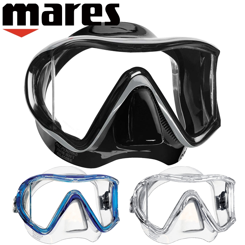 ダイビング マスク mares マレス アイ 3 サンライズ軽器材|ダイビングマスク 水中 水中マスク ダイビング用マスク ダイビング用品 シュノーケル シュノーケリング スノーケル スノーケリング