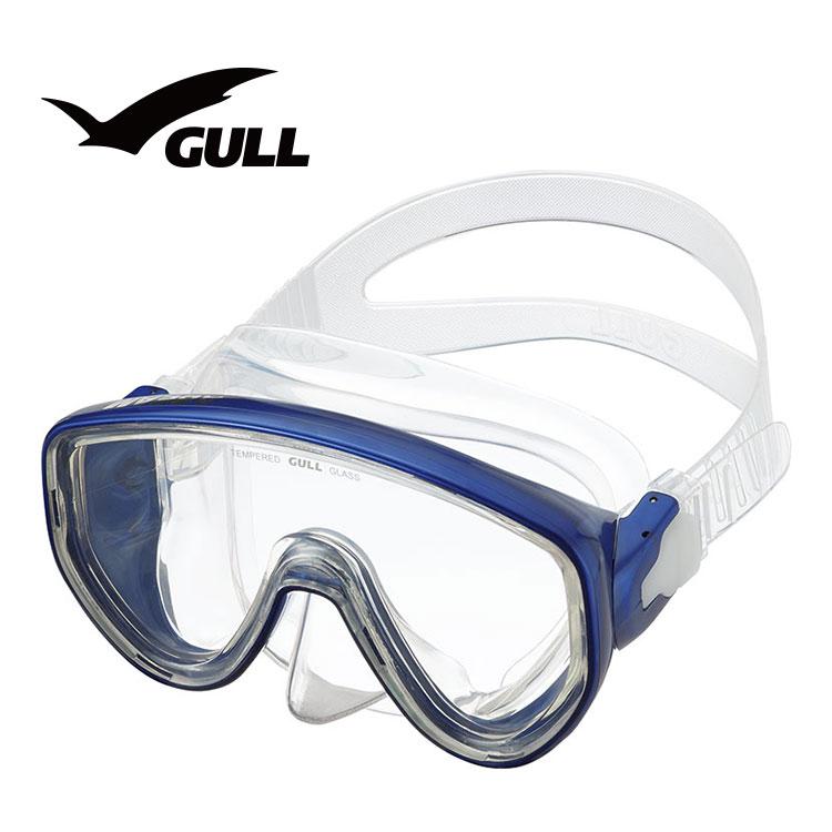 ダイビング マスク GULL ガル アビームシリコン GM-1431 軽器材 一眼マスク