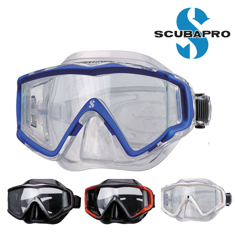 ダイビング 軽器材 マスク SCUBAPRO スキューバプロ Sプロ Crystal Vu Mask