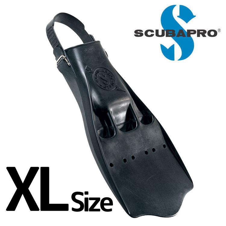 ダイビング 軽器材 フィン SCUBAPRO スキューバプロ Sプロ JET FIN w/Rubber strap XL