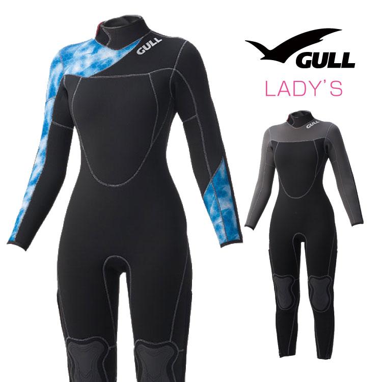 ウエットスーツ GULL/ガル GULL 5mmウェットスーツ3 ウィメンズ ダイビング フルスーツ 女性用 | ウェット ウエット スーツ シュノーケリング スノーケリング シュノーケル スノーケル サーフィン フル マリンスポーツ ジェットスキー スイムウェア スキューバダイビング