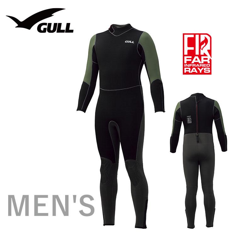 ウエットスーツ GULL/ガル 5mm ウエットスーツ メンズ GW-6632 スノーケリング ダイビング アウトドア ウエット スーツ 男性用