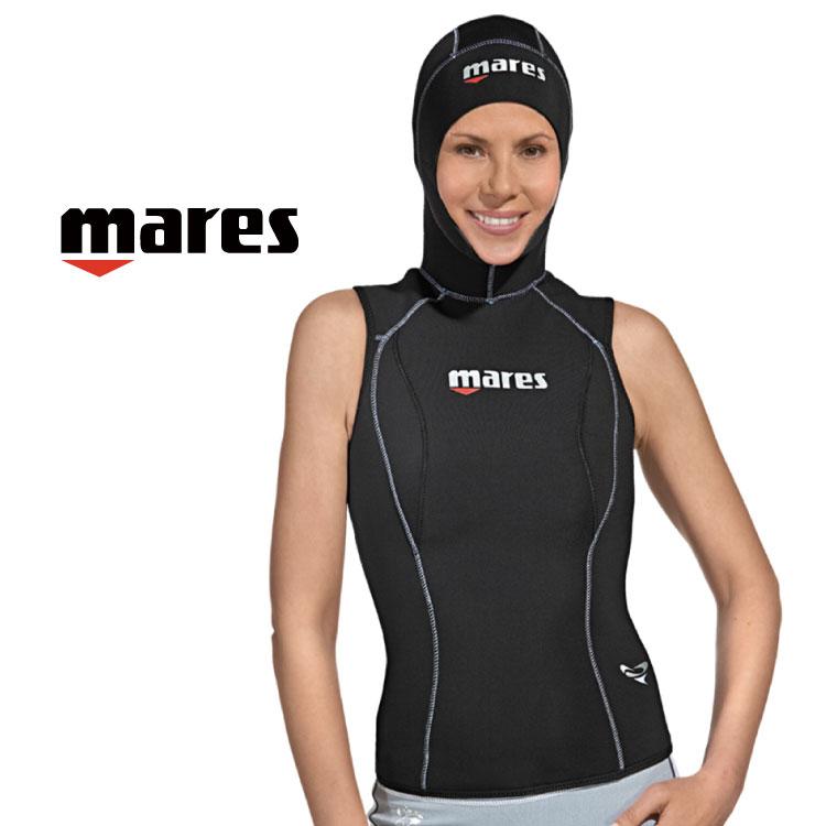 ウェットスーツ レディース スプリング mares フレクサ フードベスト シーダイブス 3mm ダイビング ウエットスーツ|サーフィン ジェットスキー ウェット ウエット スーツ スキンダイビング シュノーケリング スノーケリング ウェットスーツレディース マレス