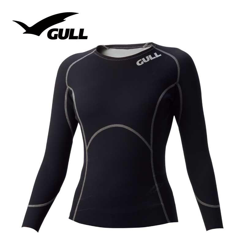 インナー GULL/ガル 1mmSCSロングスリーブ ウィメンズ ダイビング インナー 長袖 女性用
