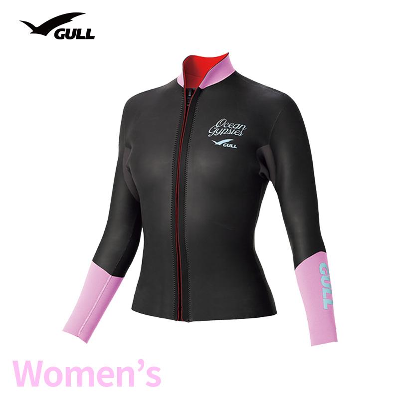タッパー GULL/ガル 3mmSKINタッパー ウィメンズ GW-6637 スノーケリング ダイビング アウトドア タッパー マリンスポーツ スイムウェア スキン 女性用