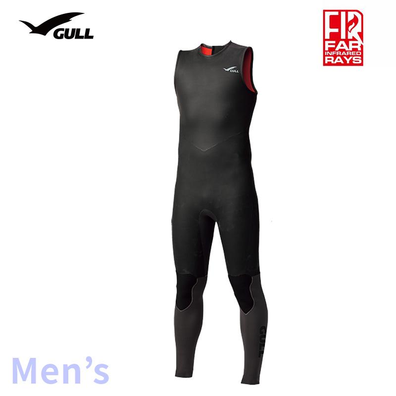 ロングジョン GULL/ガル 3mmSKINロングジョン メンズ GW-6635 スノーケリング ダイビング アウトドア ロング マリンスポーツ スイムウェア スキン 男性用