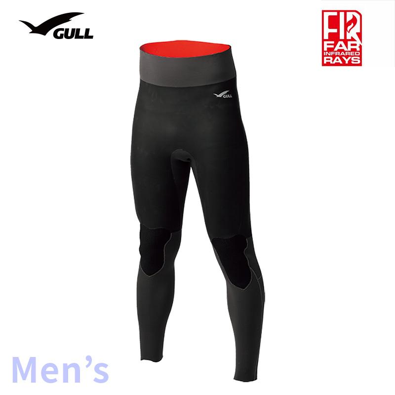 ロングパンツ GULL/ガル 3mmSKINロングパンツ メンズ GW-6636 スノーケリング ダイビング アウトドア ロング パンツ マリンスポーツ スイムウェア スキン 男性用