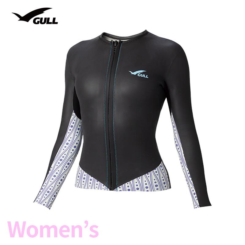 タッパー GULL/ガル 2mmSKINタッパー3 ウィメンズ GW-6641 スノーケリング ダイビング アウトドア タッパー マリンスポーツ スイムウェア スキン 女性用