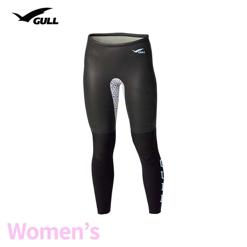 ロングパンツ GULL/ガル 2mmSKINロングパンツ2 ウィメンズ GW-6642 スノーケリング ダイビング アウトドア ロングパンツ マリンスポーツ スイムウェア スキン 女性用