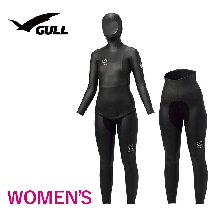 タッパー&ロングパンツ GULL/ガル アプネアタッパー&ロングパンツ ウィメンズ GW-6644 スノーケリング ダイビング アウトドア アプネア タッパー ロングパンツ マリンスポーツ スイムウェア 女性用