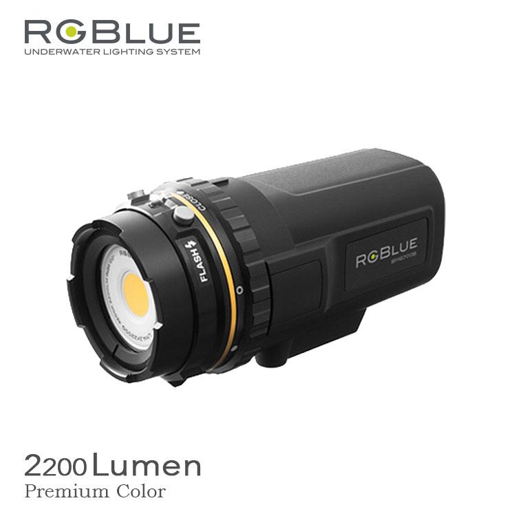 水中ライト RGBLUE/アールジーブルー システム02 プレミアムカラー Ver2 ダイビング
