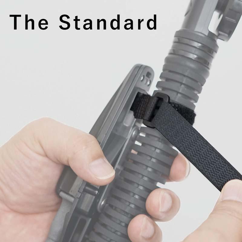 ナイフの鞘や器材を固定できるベルクロストラップ ベルクロ ストラップ The Standard 希望者のみラッピング無料 ザ スタンダード ダイビング ナイフ用 ダイバー まとめ買い特価 水中ナイフ パーツ ナイフ アクセサリー