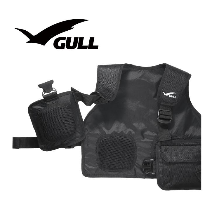 ウエイトベスト GULL/ガル GULL ウエイトベスト ダイビング ウエイト ドライスーツ