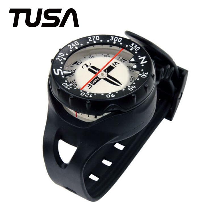 ダイブコンピュータの併用におすすめ ゲージ コンパス TUSA/ツサ リストタイプコンパス SCA-160J ダイビング