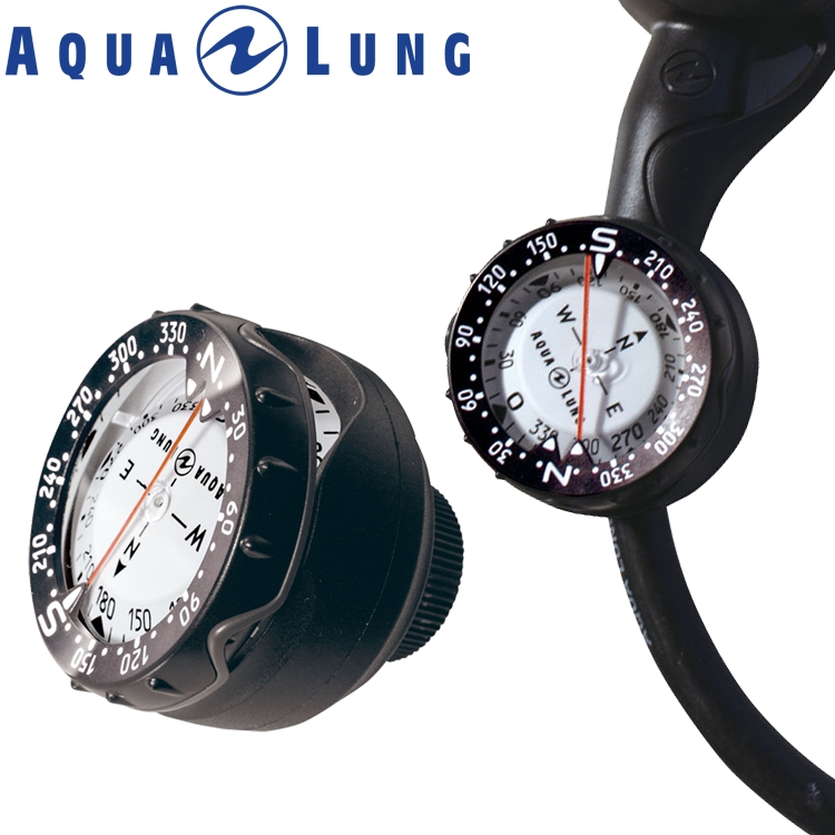 ダイビング コンパス AQUALUNG アクアラング プレシス ホースマウントタイプ 重器材 ゲージ