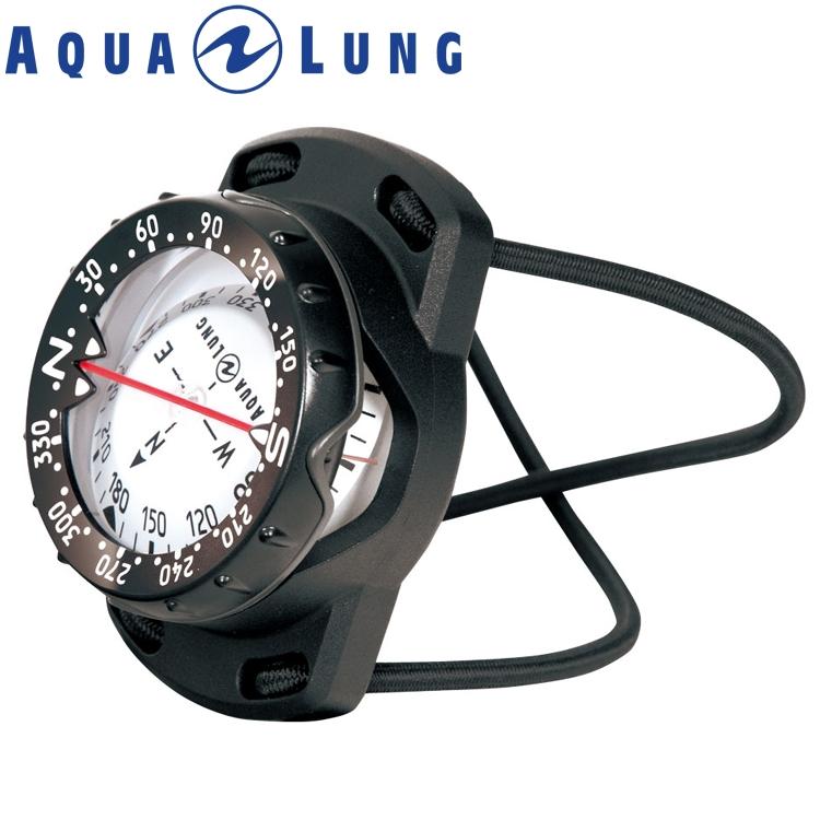 ダイビング コンパス AQUALUNG アクアラング プレシス バンジータイプ 重器材 ゲージ