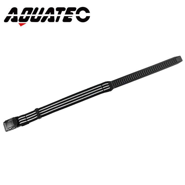 ダイビングナイフ用のロングナイフベルト AQUATEC アクアテック 賜物 ナイフストラップ ロング 470mm NEW ARRIVAL ベルト ナイフ ダイビング ストラップ KN-200-1