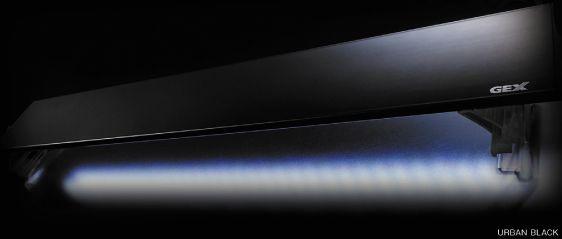 アクアF数量限定大特価!【観賞魚水槽用LEDライト】GEX LEDライト クリアLED 450 PG(プラントグロー) アーバンブラック  19W ≪水槽 熱帯魚 観賞魚 飼育≫