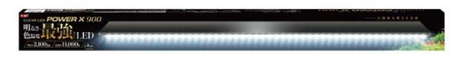 【観賞魚水槽用LEDライト】GEX LEDライト クリアLEDパワーX 900  29W ≪水槽 熱帯魚 観賞魚 飼育≫クラス最強!!