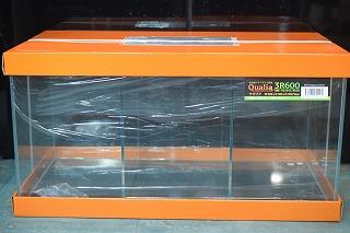 新商品!【JUN】熱帯魚 飼育用品 水槽セットクリアオガラスフレームレス水槽 クオリア 3R600高級水槽 5台限定特価 ※送料無料対象外