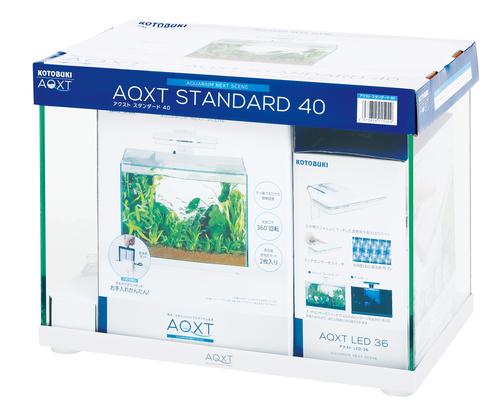 【コトブキ】コトブキ工芸 AQXT STANDARD 40(アクストスタンダード40)W405×D255×H310(25L) ガラス水槽