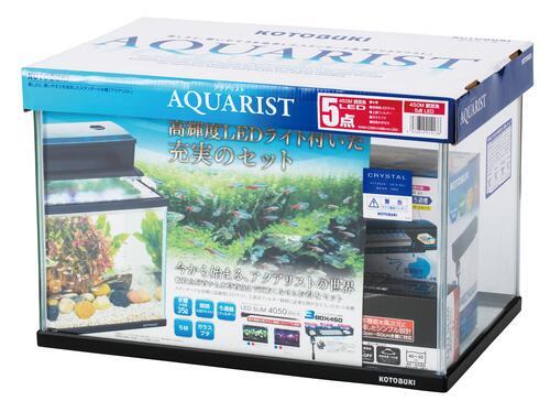 【コトブキ】コトブキ工芸 450M 観賞魚 5点 LEDW450×D295×H300(35L) ガラス水槽