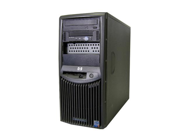 HP ProLiant ML310【中古】Pentium4 2.8GHz/768MB/40GB×2