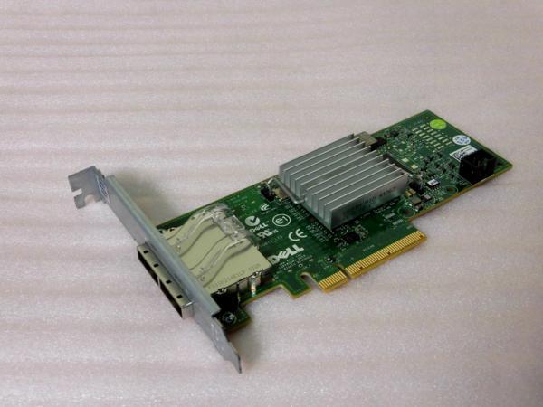 DELL PERC H200E 6GB SAS PCI-E HBA (012DNW)【中古】