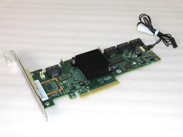 HP LSI 9212-4i 4-Port SAS 6Gb RAID カード 636705-001【中古】