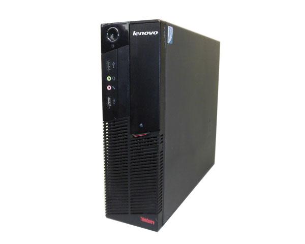 Win7 Lenovo Thinkcentre A58 7522-P8J Celeron 450 2.2GHz/1GB/250GB/DVD-ROM【中古デスクトップパソコン】【Windows7】